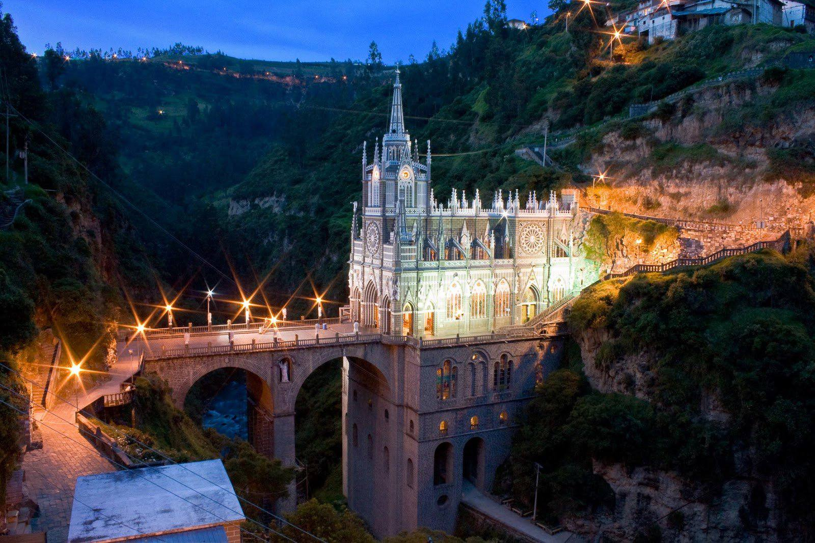 Trip to Pasto and visit El Santuario de las Lajas in Colombia