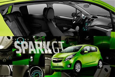 Rent a Chevrolet Spark GT in Colombia